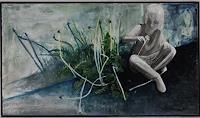 Claudia-Erbelding-People-Children-Plants-Flowers-Contemporary-Art-Contemporary-Art