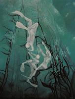Claudia-Erbelding-Landscapes-Sea-Ocean-People-Group-Contemporary-Art-Post-Surrealism