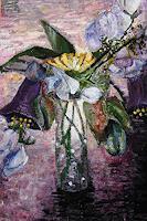 Claudia-Erbelding-Plants-Flowers-Modern-Age-Impressionism-Post-Impressionism