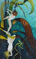 Claudia-Erbelding-Landscapes-Sea-Ocean-People-Modern-Age-Impressionism