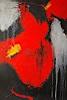 Maria Svatos, Komposition Rot - Schwarz - 1