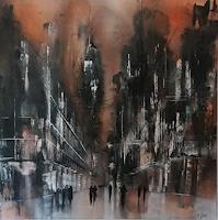 Nicole Glück, city by night