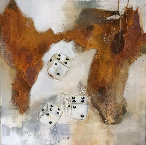 Nicole Glück, Spiel des Lebens II, Abstract art, Abstract art, Abstract Art