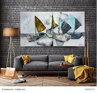 Nicole-Glueck-Abstract-art-Landscapes-Sea-Ocean-Modern-Age-Abstract-Art