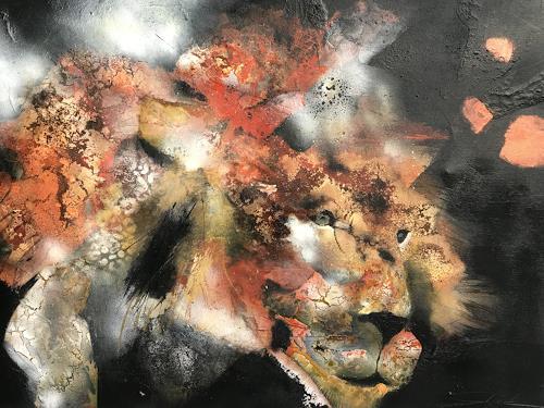 Nicole Glück, Mr. Harry, Animals, Abstract art, Abstract Art