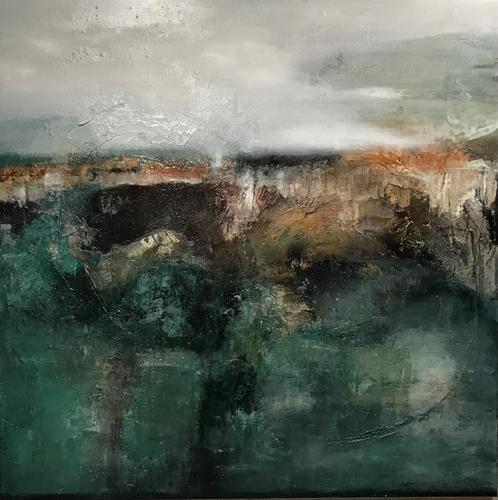Nicole Glück, Silencio, Landscapes, Abstract art, Abstract Art, Abstract Expressionism