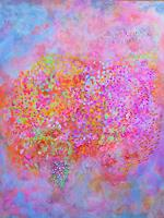 Sibylle-Frucht-Plants-Flowers-Times-Summer-Modern-Age-Abstract-Art-Action-Painting