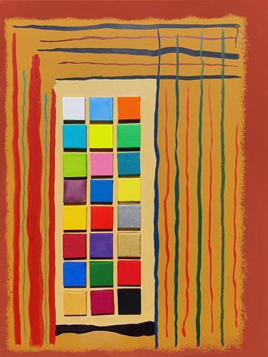 WWSt, Komposition 24&1, Abstract art, Abstract Art