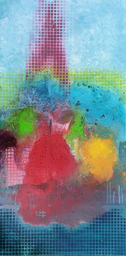 WWSt, Farbennmelodie am Raster 2, Abstract art, Abstract Art