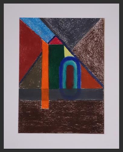 WWSt, Pyramide im Licht, Abstract art, Cubism