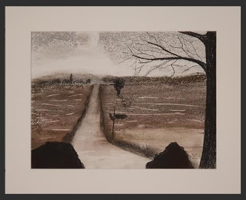 WWSt, Am Moor, Landscapes, Abstract art, Expressionism