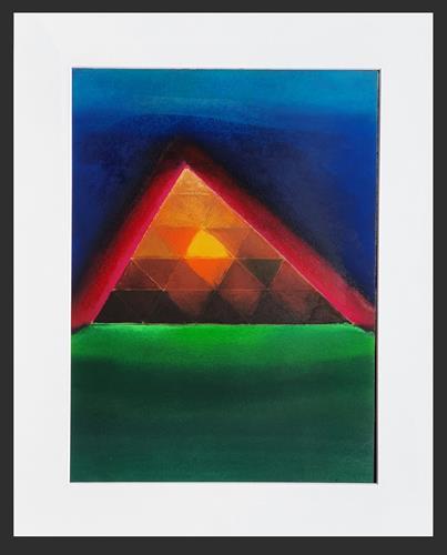 WWSt, Lichtpyramide, Abstract art, Abstract Art