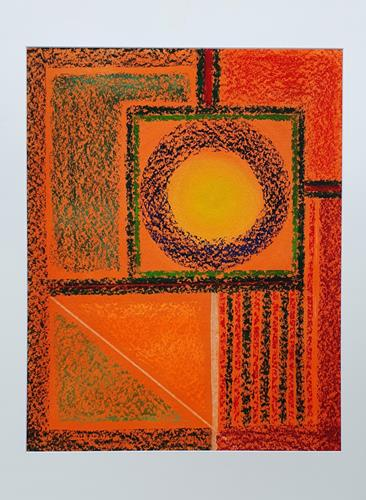WWSt, Farbfelder und Linien, Abstract art, Colour Field Painting