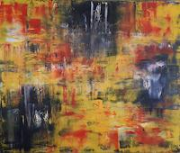Ludwig-Baumeister-Abstract-art-Abstract-art-Modern-Age-Abstract-Art-Action-Painting