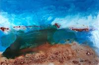 Ludwig-Baumeister-Landscapes-Sea-Ocean-Modern-Age-Abstract-Art-Action-Painting
