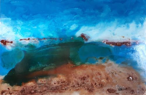 Ludwig Baumeister, Inseln der Balearen, Abstract art, Abstract Art