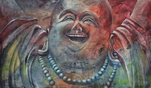 Claudia Beck, Happy Buddha, Belief, Expressive Realism