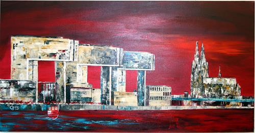 Claudia Beck, Köln Kranhäuser, Miscellaneous Buildings, Buildings: Churches, Expressive Realism