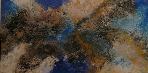 Marion Schmidt, o.T, Abstract art, Abstract art, Action Painting