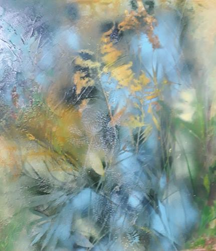 Marion Schmidt, o.T, Landscapes: Spring, Abstract art, Action Painting, Expressionism