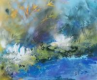 Marion-Schmidt-Landscapes-Sea-Ocean-Abstract-art-Modern-Age-Abstract-Art-Action-Painting