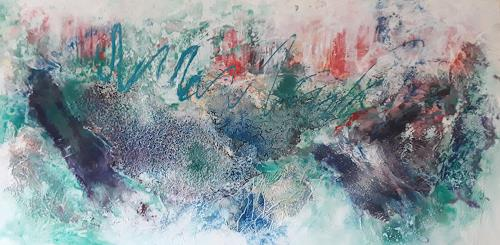 Marion Schmidt, Abstract nature, Abstract art, Abstract art, Action Painting