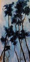 Marion-Schmidt-Plants-Trees-Abstract-art-Modern-Age-Abstract-Art-Action-Painting