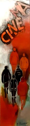 Margret Obernauer, Cinema, People: Group, Abstract art, Abstract Art