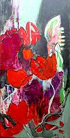 Margret-Obernauer-Abstract-art-Plants-Flowers-Modern-Age-Abstract-Art