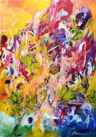 Margret-Obernauer-Abstract-art-Plants-Modern-Age-Abstract-Art