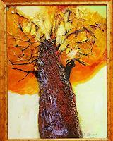 Margret-Obernauer-Plants-Trees-Nature-Modern-Age-Expressive-Realism