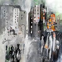 Margret-Obernauer-Emotions-Joy-Abstract-art-Modern-Age-Abstract-Art