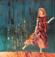 Margret Obernauer, Mädchen mit den roten Schuhen