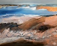 Margret-Obernauer-Landscapes-Sea-Ocean-Nature-Rock-Modern-Age-Expressionism