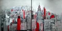 Margret-Obernauer-Buildings-Skyscrapers-Architecture-Modern-Age-Expressive-Realism