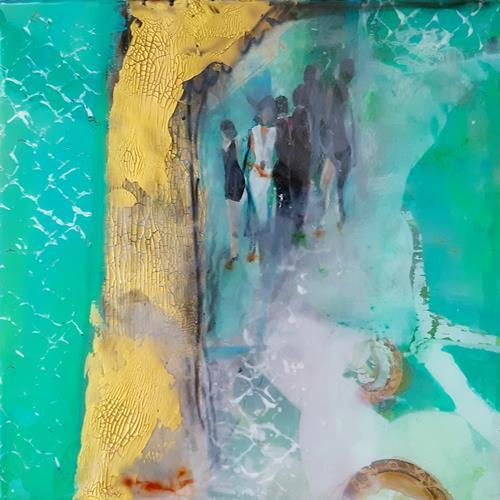 Margret Obernauer, Gesellschaft, Abstract art, Abstract Art, Expressionism