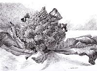 Susanne-Thaesler-Still-life-Plants-Fruits-Modern-Age-Expressive-Realism