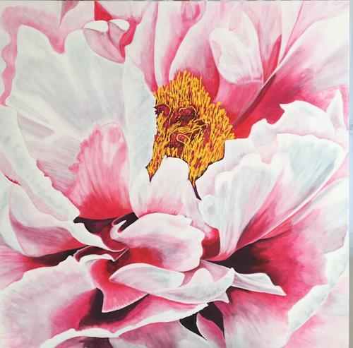 Madeleine Schertenleib, Blumenwelt, Plants: Flowers, Expressive Realism