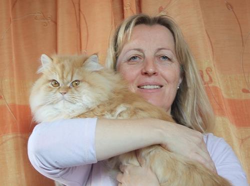 Regina Hermann, Die Katzen der Künstler 1, People: Women, Animals, Others