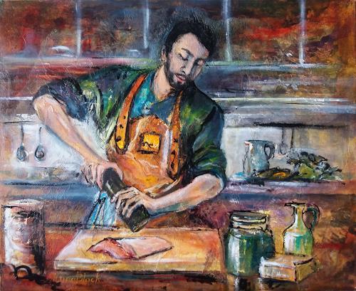 Nora Block, Leidenschaft, People, Meal, Realism