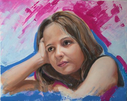 JoAchim Nowak, OT, People: Portraits, Abstract Art, Expressionism