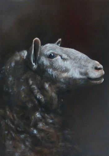 Andreas Lochter, Die Unschuld vom Lande I, Animals, Realism, Expressionism