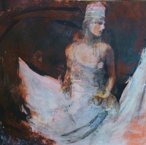 Andreas Lochter, Tänzer, von sich überzeugt, Miscellaneous People, Contemporary Art, Abstract Expressionism