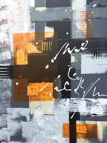 Jutta Mahnke, o.T., Abstract art, Abstract Expressionism