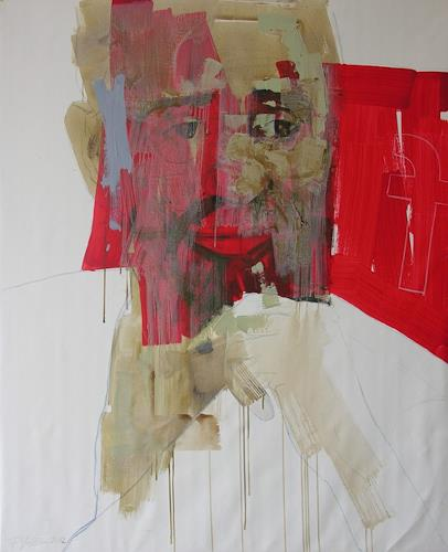 Francisco Núñez, Fidel, Abstract art, People: Portraits, Abstract Art
