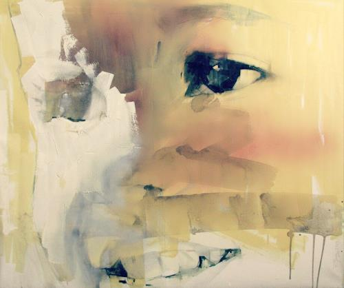 Francisco Núñez, Ela, Abstract art, People: Models, Abstract Art