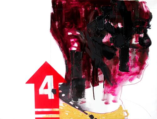 Francisco Núñez, Sin título, Abstract art, People, Contemporary Art