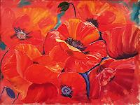 Alla Alevtina Volkova, Red Poppies Fine Art