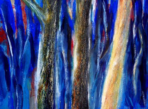 Claudia Irene Carmen Simon, Zauberbäume, Nature: Wood, Plants: Trees, Modern Age