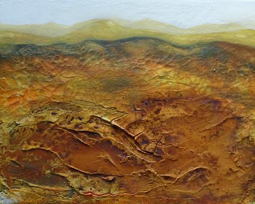 Claudia Irene Carmen Simon, Wüste, Landscapes: Mountains, Nature: Earth, Modern Age